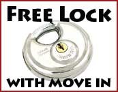 Free lock when you move in